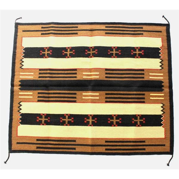 Third Phase Chief's Blanket Wool Rug by Pedro Sosa