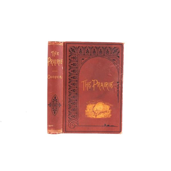 1883 The Prairie a Tale by J. Fenimore Cooper