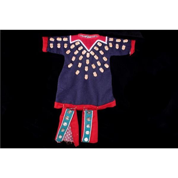 Apsaalooke Crow Elk Teeth Dress 1900-1950's