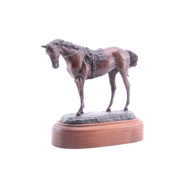 """Dwyer, Anna """"The Thoroughbred"""" Limited Ed. Bronze"""