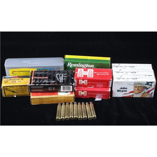 Collection of assorted Ammunition and Brass