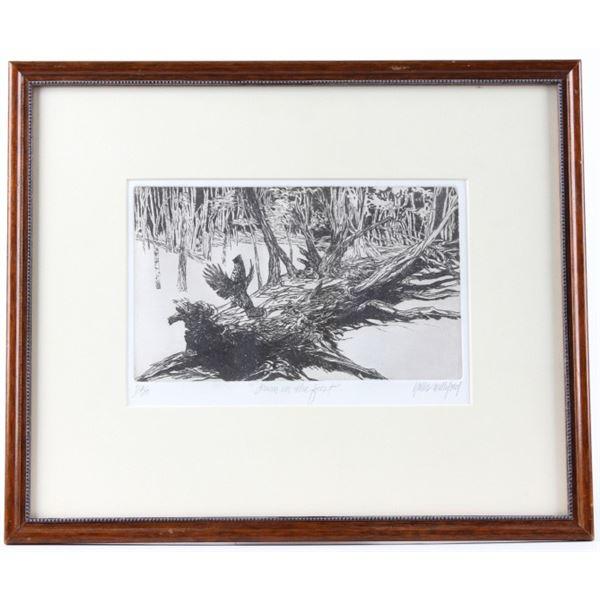 "Williford, Hollis(1940-2007) ""Drum in the Forest"""
