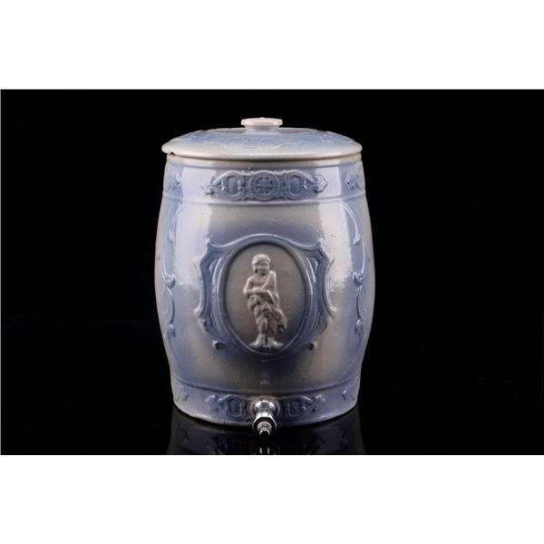 Union Stoneware #5 Crock Fluid Dispenser c. 1900's