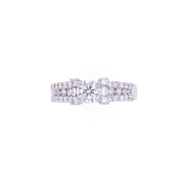 Art Deco Style Classic 1.33ct Diamond Ring