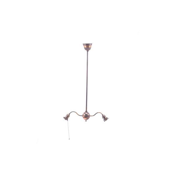 Columbian Garden, Butte Hubbell Acorn Lamp