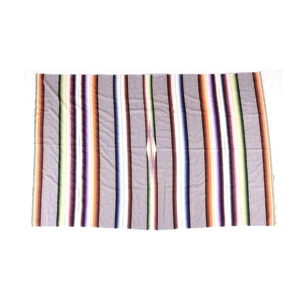 Mexican Saltillo Serape Blanket circa 20th Century