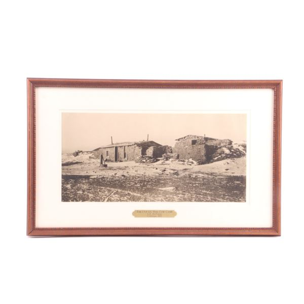 The Old LU Cow Camp, L.A. Huffman Collotype 1884
