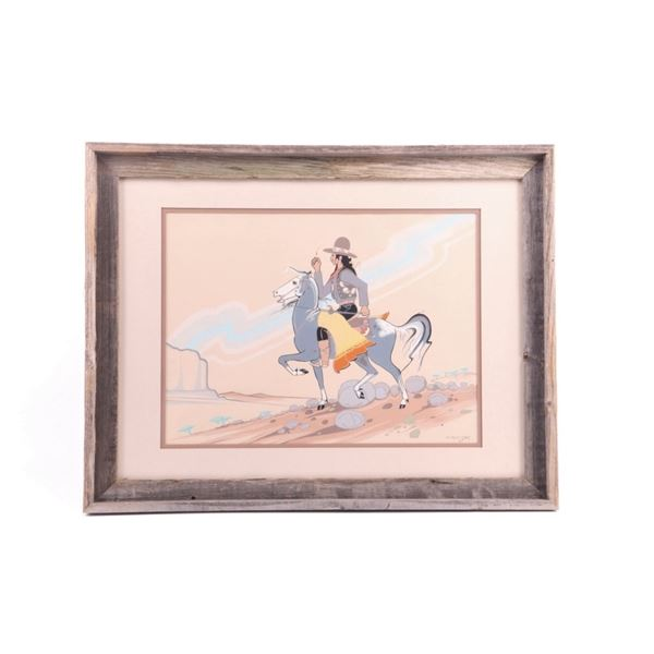 Original Robert Chee Watercolor Painting 1959