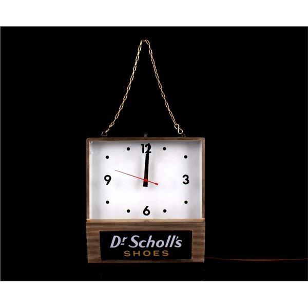 Synchron Dr. Scholl's Light Up Clock
