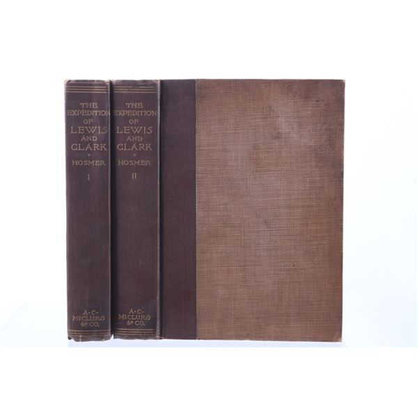 The Expedition of Lewis And Clark By Hosmer V I&II