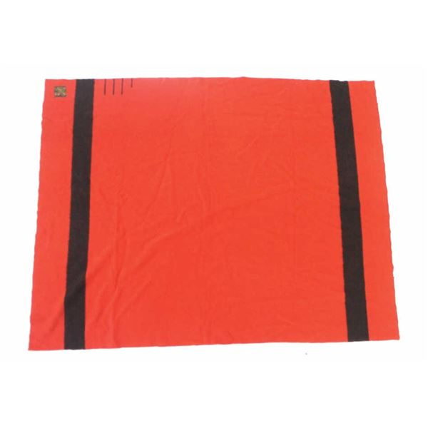 Hudson Bay Company 3 1/2 Point Red Wool Blanket