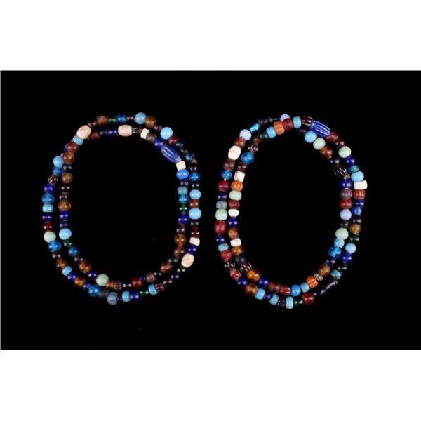 Dutch Dogon Glass Trade Bead Necklaces