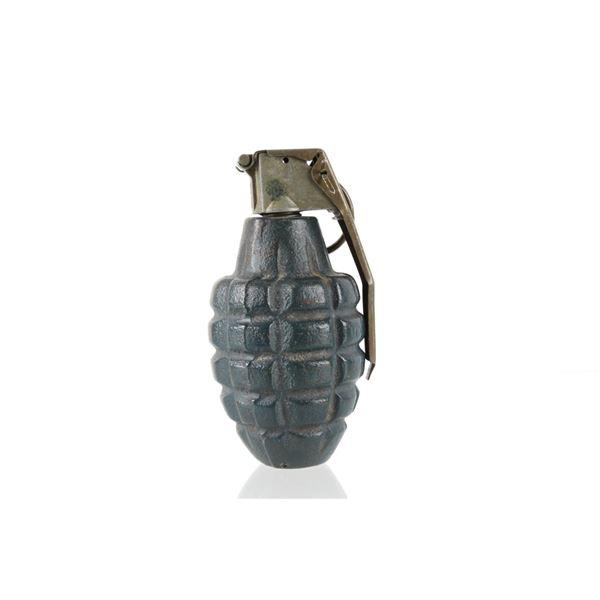 WWII Era MK-2 De-Mil Fragmentation Hand Grenade