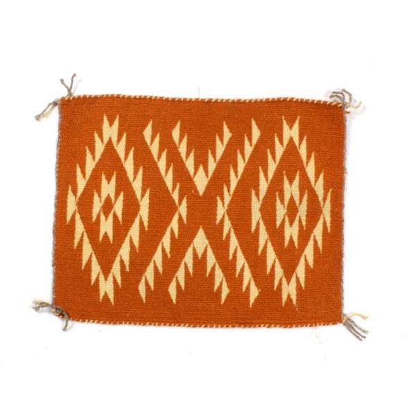 Navajo Crystal Rug from Crownpoint by Lolita Perry