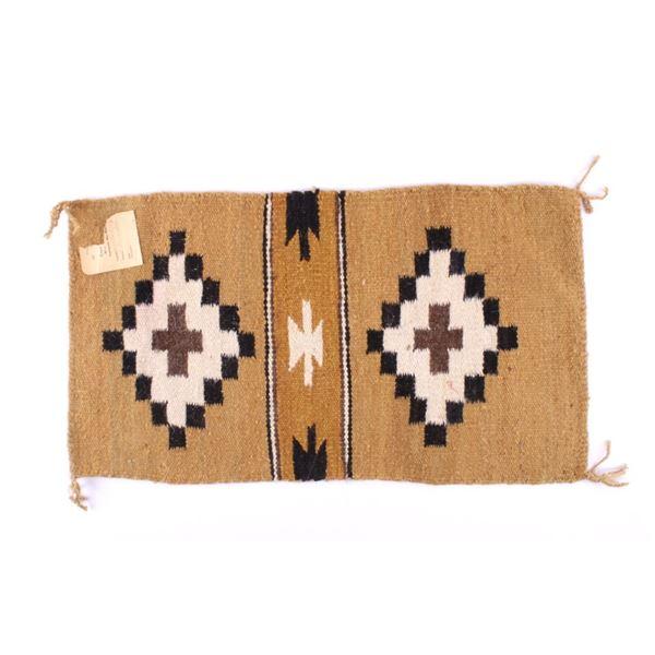 Navajo Crystal Rug from Crownpoint by Juanita King