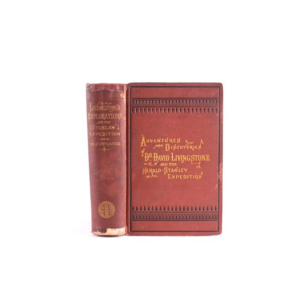 Adventures & Discoveries of Dr. Livingstone c 1872