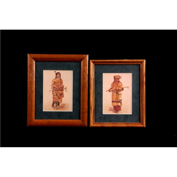 Signed O.C. Seltzer Native American Prints