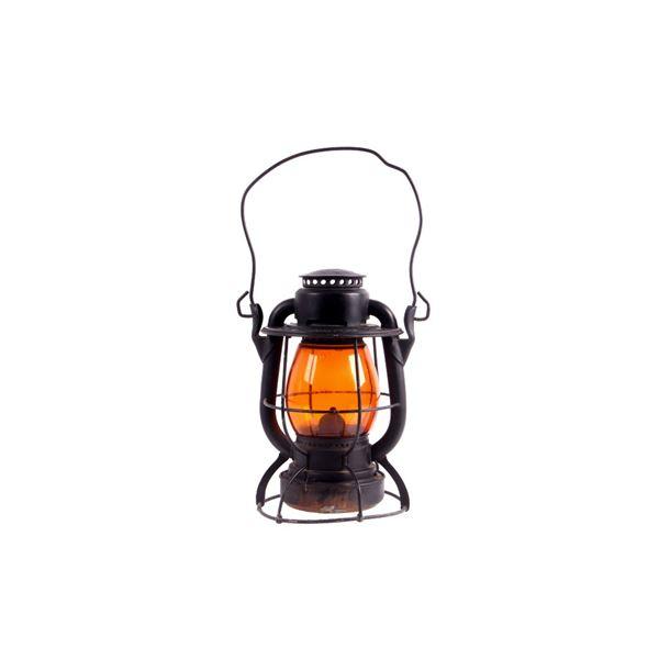 Dietz Vesta N.Y.C. Lines Amber Globe Lantern
