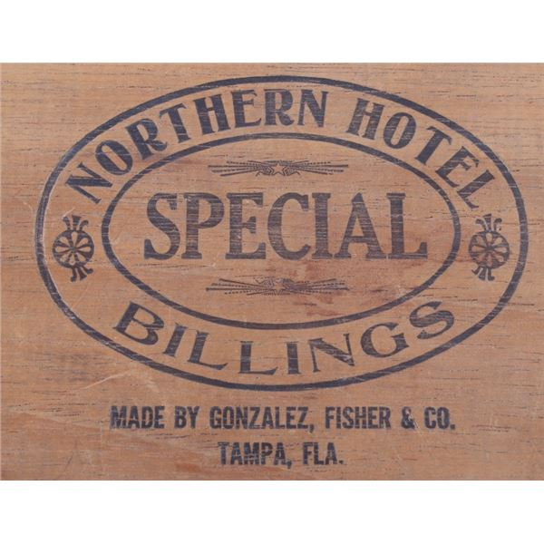 Northern Hotel Special Cigar Box Billings Montana