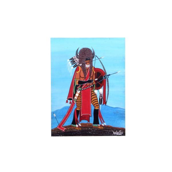 Originial Dau-Law-Taine Kiowa Painting 2020