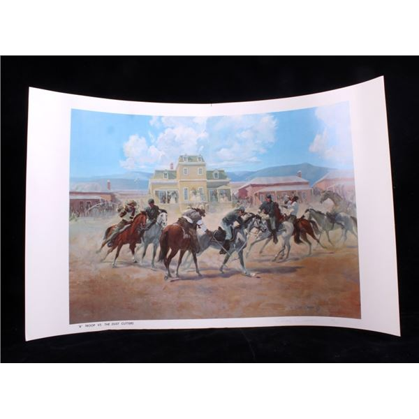 Early Montana Artist Gary Carter Limited Print