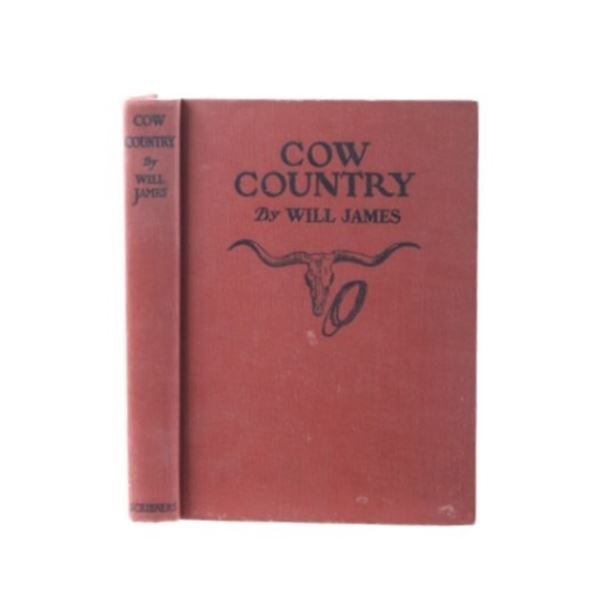 Cow Country By Will James 1929 Early Edition