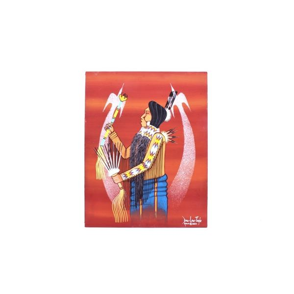 Dau-Law-Taine Kiowa Spirit Painting 2020
