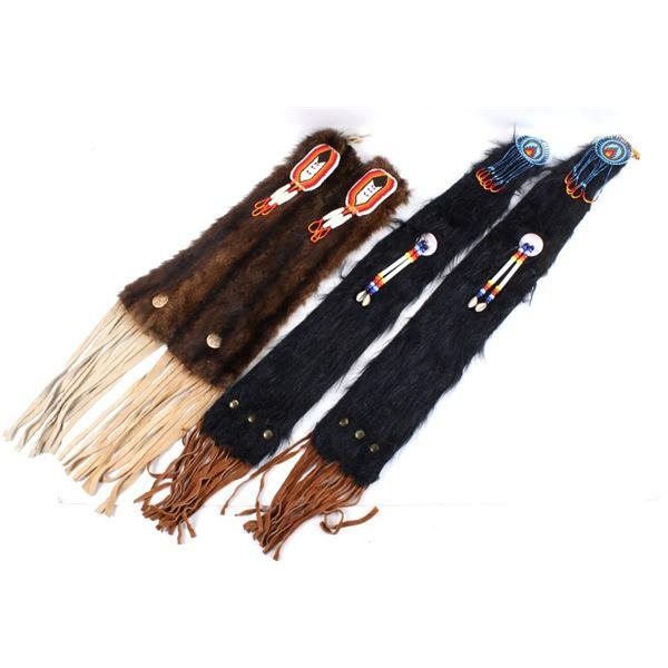 Crow Indian Beaded Fur Tomahawk Drop Collection