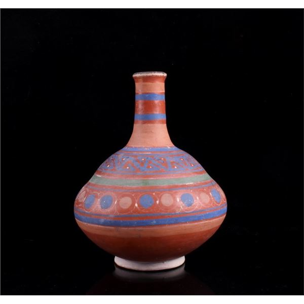 Mid 1900's Acoma Native American Coil Style Vase