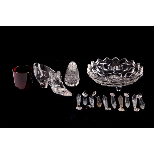 Collection of Glass Home Decor Collectibles