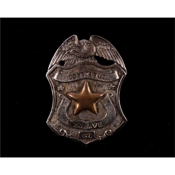 Mohave Arizona Constable Badge c. Early 1900's