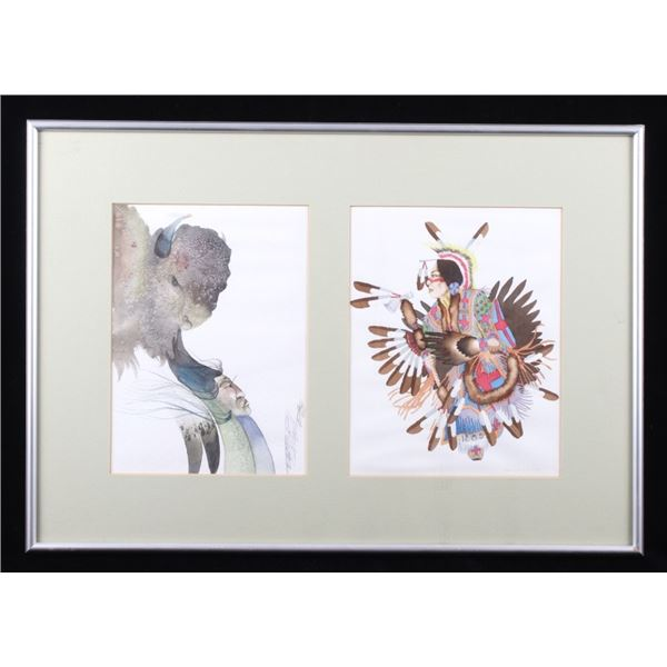 Ridgely & Archambault Framed Watercolor Paintings