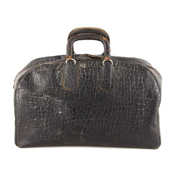 Antique Split Cow Hide Leather Doctors Bag