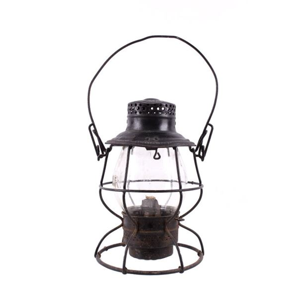 Illinois Central R.R. Adams & Westlake Co Oil Lamp