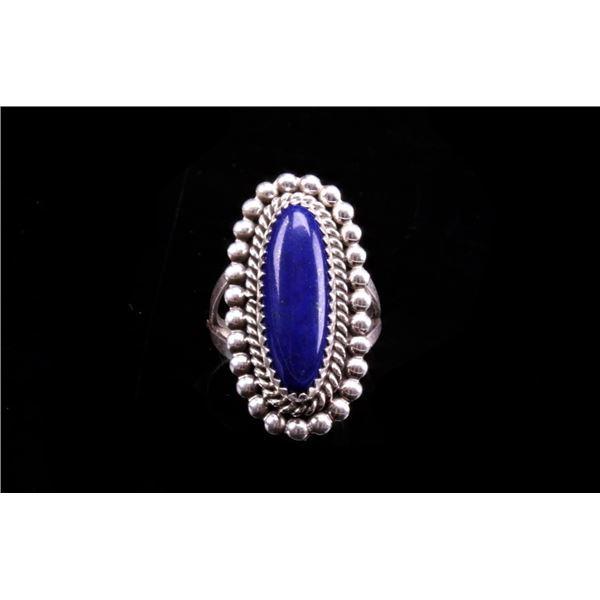 Navajo Sterling Silver Lapis Ring