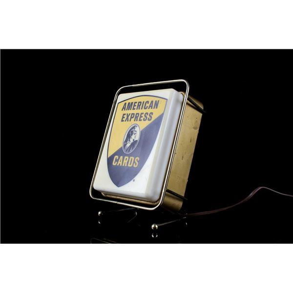 American Express Card  Counter Light