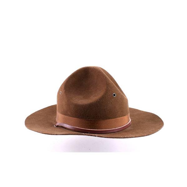 Brown World War II era Campaign Hat