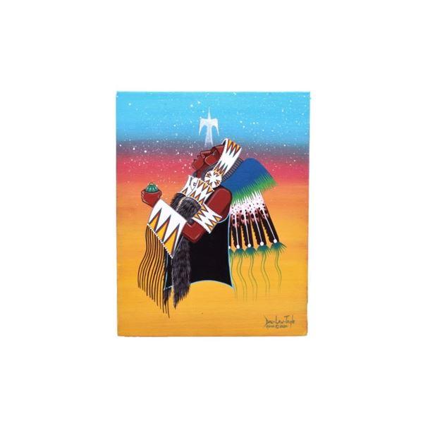 Original Dau-Law-Taine Kiowa Painting 2020