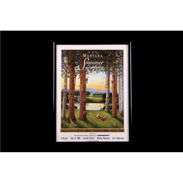 The Montana Summer Symphony Advertisement c. 2001