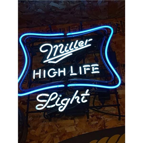 MILLER HIGH LIFE VINTAGE NEON