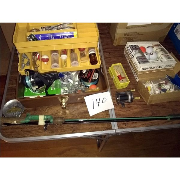Vintage and Collectible Sporting Goods Lot / AKA LOT 140