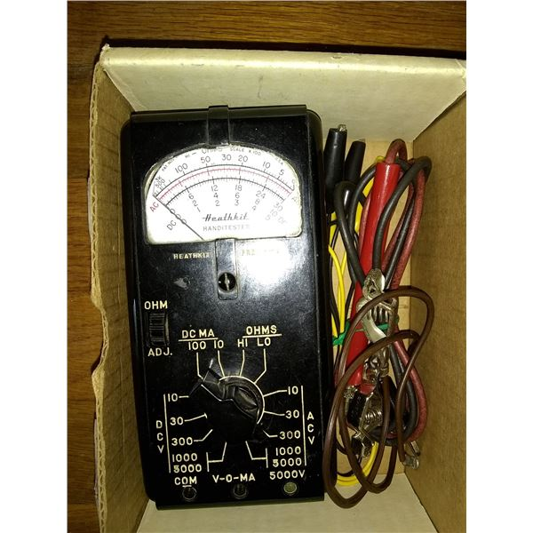 Vintage Healthkit Handitester VOM Meter / AKA LOT 172