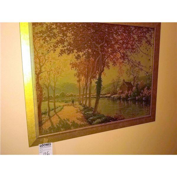 Framed Art Piece