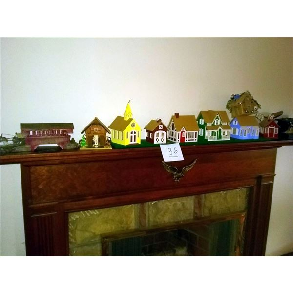 Mantel Lot: Includes all Houses