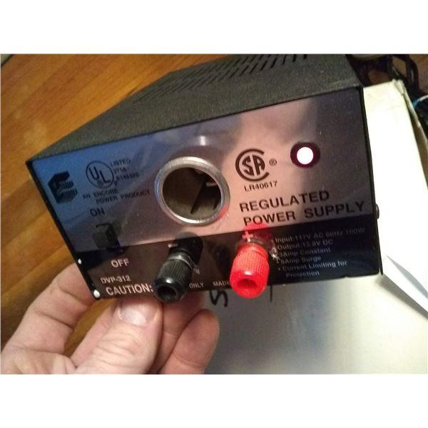 BUNDLE LOT: Electrician's Handbooks, Soldering Iron, 3 AMP Power Supply, Salesman's Samples