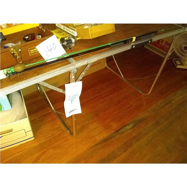 Vintage Aluminum Folding Table