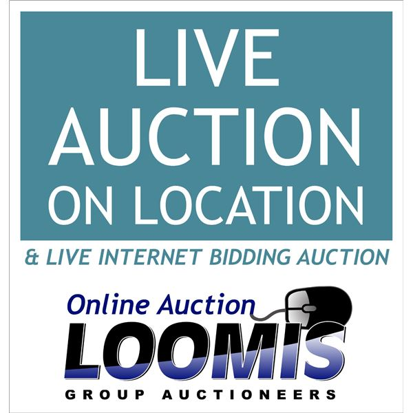 Live & Internet Auction Day / Final Auction Day for Personal Inventory