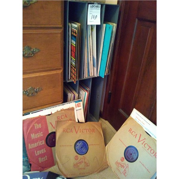 Vintage Record Collection