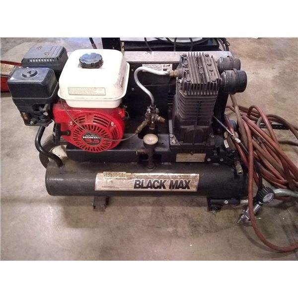 SANDBORN BLACK MAX A/C W 5.5 HONDA ENGINE / AKA LOT 516