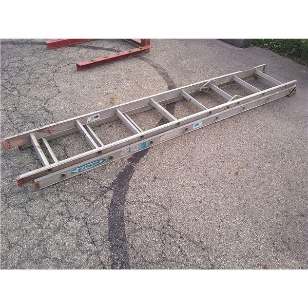 Werner 16' Aluminum Extension Ladder / AKA LOT 523